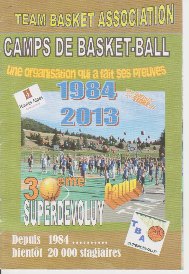 Faire un stage de basket à Superdévoluy